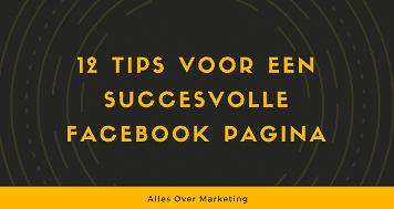 Facebook tips voor succesvolle pagina