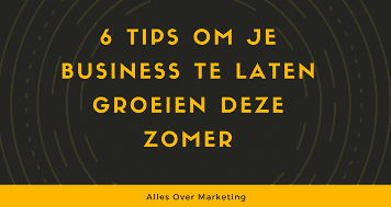 Zomer tips marketing