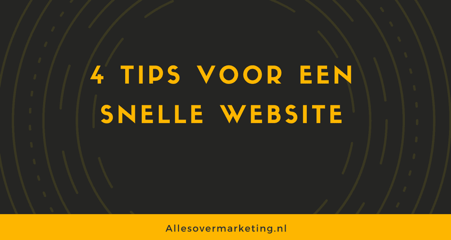 tips snellere website