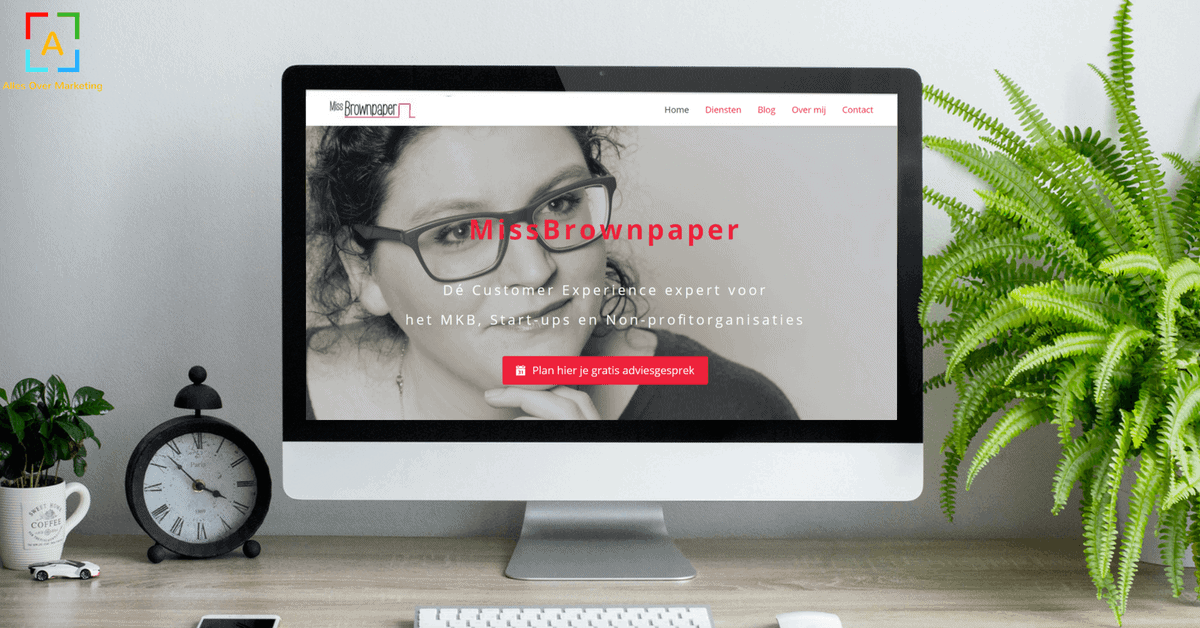 MissBrownpaper website 2