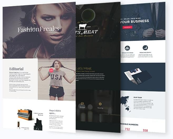Templates alles over marketing theme